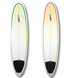 7ft 6in to 8ft Surfboard Fun